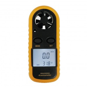 2.Digitaler Windmesser mit Thermometer