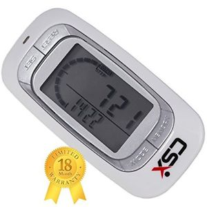 1.CSX Walking 3D Pedometer Fitness Calorie Monitor