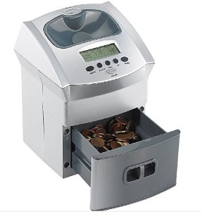 3.General Office Mobile Battery Operated Euro Coin Counter