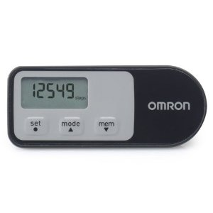 3.Omron Walking Style One 2.1 Pedometer